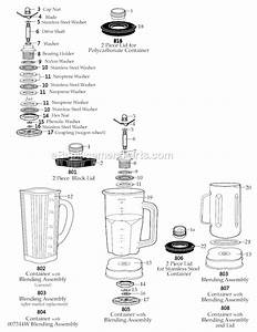 Waring Wf2111211 Parts List And Diagram