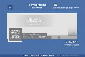 website banner size chart bing images With facebook page header template