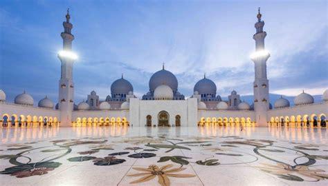 masjid agung sheikh zayed masjid indah  megah warisan