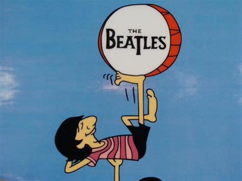 Beatles Cartoon Ltd Ed Sericel Animation Cel Ringo Boys