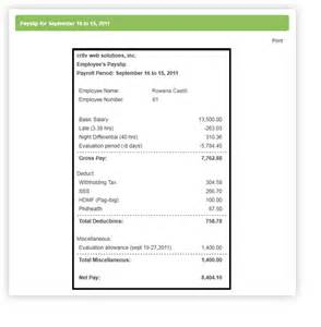 Payroll Template Excel Philippine Payroll Format Pictures To Pin On Pinsdaddy