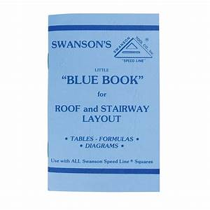 Swanson Little Blue Book Of Instructions For Roof And