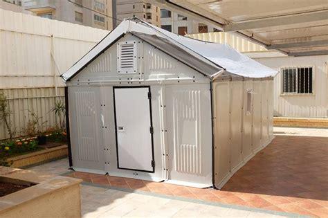 foldable solar powered house designed  ikea