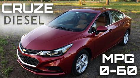 chevrolet cruze diesel manual   mph review