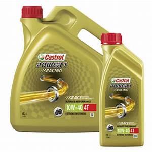 Castrol 10w40 Motorrad : buy castrol power1 racing 4t engine oil fully synthetic ~ Jslefanu.com Haus und Dekorationen