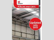Purlins and Girts Design Guide Updated Jul 2015