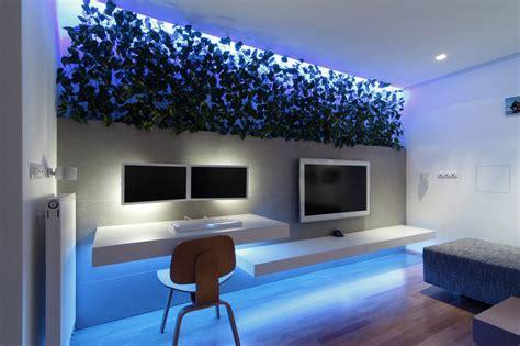 Modern Apartment Design With LED Lighting   Home Design