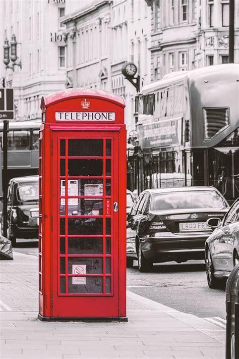 londres cabine telephonique rouge photo gratuite sur pixabay