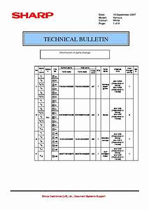 Sharp Printer Service Manuals And Schematics  U2014 Repair