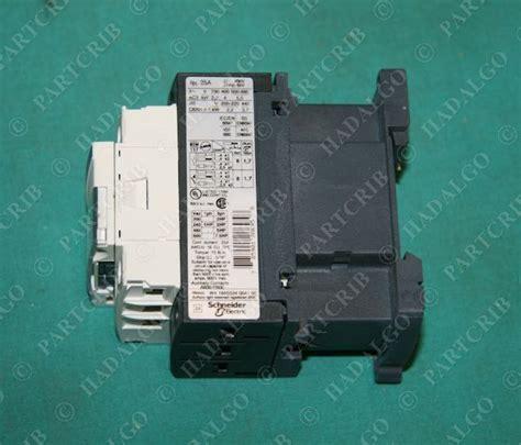 telemecanique lc1d09g7 contactor schneider square d 120v new partcrib