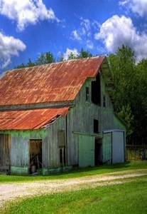 17 best images about art of old barns on pinterest old With barn roof paint