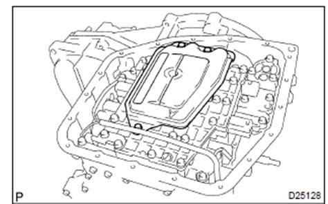 Toyota Corolla Repair Manual Transmission Valve Body Assy