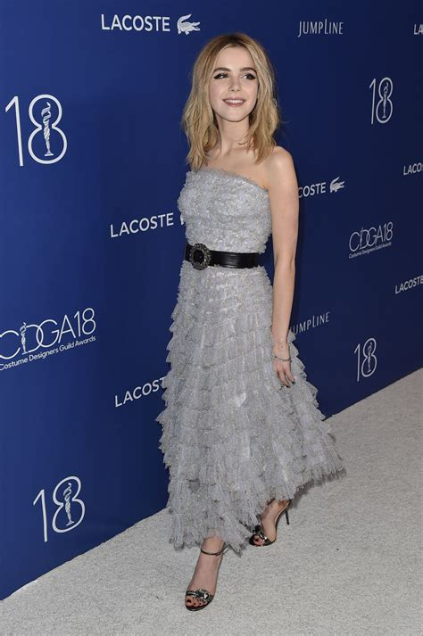 Kiernan Shipka – Costume Designers Guild Awards 2016 with ...