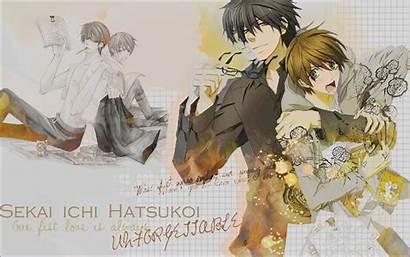 Hatsukoi Sekai Ichi Wallpapers Fanpop Takano Deviantart