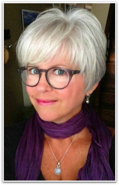 The 25+ best Short gray hairstyles Hair styles for women