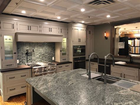 artisan ge monogram display craftsman kitchen  york  jon tober designer