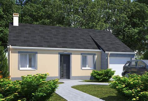 modele maison plain pied 4 chambres plan maison individuelle 2 chambres 101 habitat concept