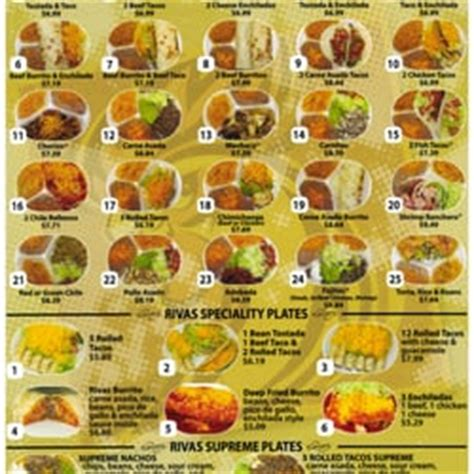 menu cuisine az rivas food order 22 photos 102 reviews 15403 w greenway rd