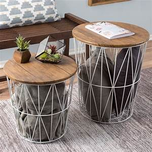 Nesting, End, Tables, With, Storage