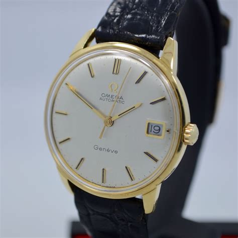 Vintage Omega Seamaster 166001 18k Solid Yellow Gold Cal