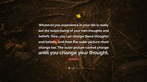 Emmet Fox Quote   U201cwhatever You Experience In Your Life Is