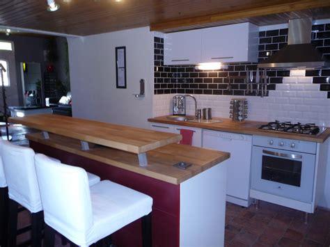 deco cuisine blanc et bois beaufiful cuisine et bois pictures gt gt cuisine