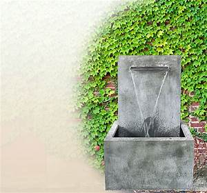 Holztrennwände Für Den Garten : moderner wandbrunnen f r den garten aus zink kaufen online shop ~ Sanjose-hotels-ca.com Haus und Dekorationen
