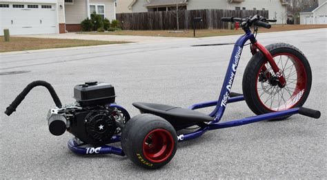 Trike Daddy Customs Gas Powered Drift Trikes, Made In The Usa