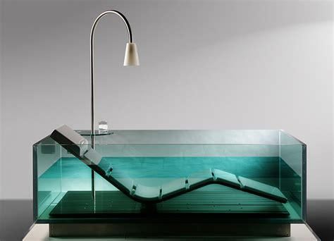 chaise baignoire water lounge by hoesch