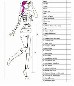Blank Body Measurement Template 18