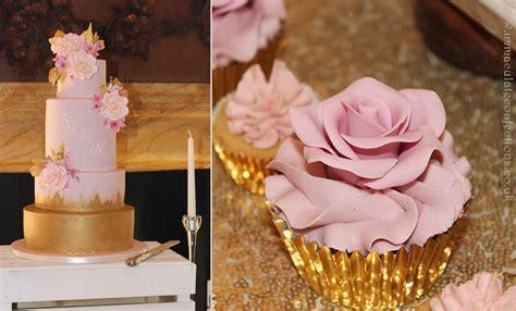 blush pink  gold dessert table cakes  natalie