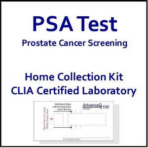 psa test home psa test cancer screening at home