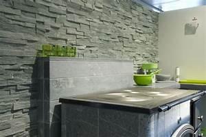 Revêtement Mural Cuisine : cuisine en pierre naturelle deco granits ~ Farleysfitness.com Idées de Décoration
