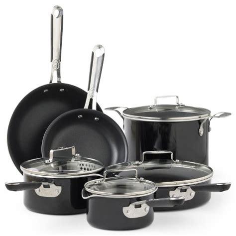 emeril  pc hard enamel cookware set black enamel wwwyourcookwarehelpercom