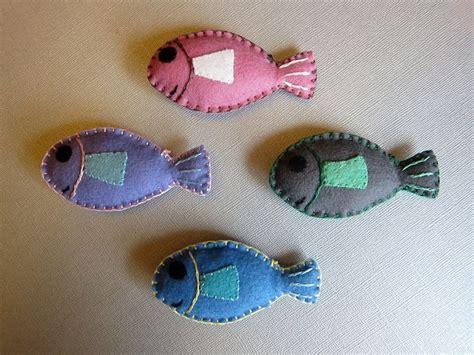 catnip cat toys felt fish  details hand stitched
