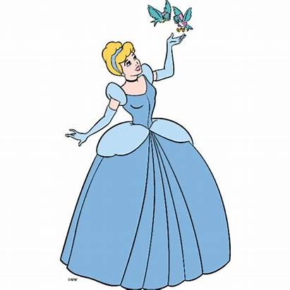 Cinderella Clipart Domain Disney Polyvore Liked Clip