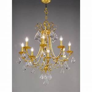 Kolarz fiorenza crystal chandelier gold  kpt free