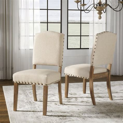 lark manor pompon nailhead side chair reviews wayfair