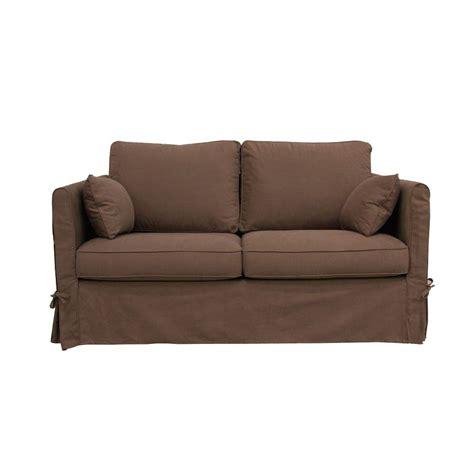 interio canap lit canapé 2 places marron interior 39 s