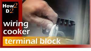 Wiring Cooker Oven Terminal Block How To Wire Cooker Oven
