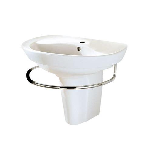 wall mounted basin sink american standard ravenna wall mounted pedestal combo