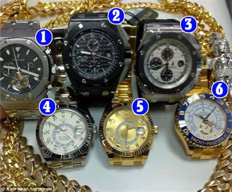 mayweather watch collection amir khan vs floyd mayweather who comes out on top in