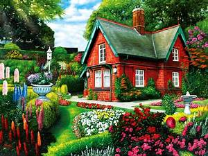 Beautiful Flowers House Pictures Hd Sand Houses With And