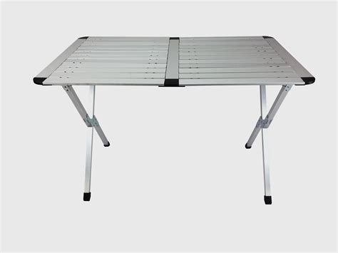 roll up aluminium table large roll up top aluminum table c picnic portable