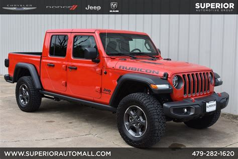 2020 Jeep Rubicon by New 2020 Jeep Gladiator Rubicon Crew Cab In Siloam Springs