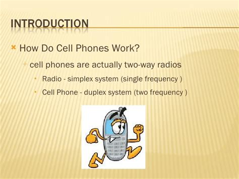 how does a smartphone work history of cell phone