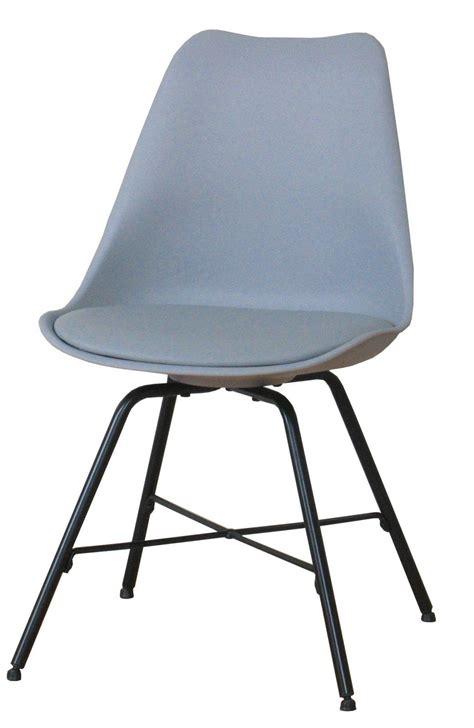 stuhl grau retro 4 x esszimmerst 252 hle niko retro stuhl sitz gruppe grau kaufen bei dtg dynamic trade gmbh