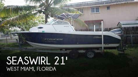 Used Striper Boats For Sale In Florida by For Sale Used 2004 Seaswirl Striper 2101 Walkaround In