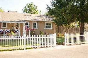 Domestic Fashionista White Picket Fence Complete The Dramatic Fence Designs For Your Front Yard