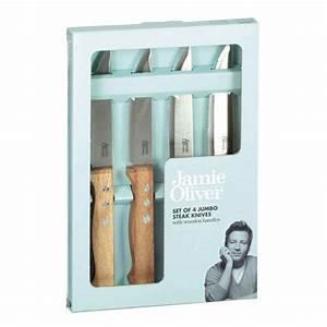 Jamie Oliver Messer : jamie oliver jumbo steak messer 4er set online kaufen online shop ~ Orissabook.com Haus und Dekorationen
